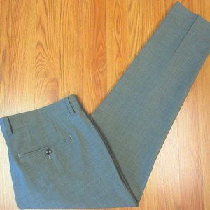 34x27 BONOBOS TAILORED FIT Mens MARZOTTO WOOL PANT
